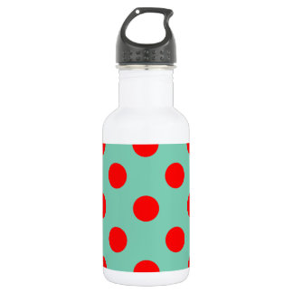 Dots Images Water Bottle