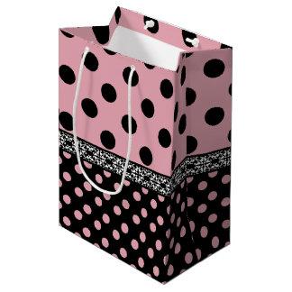 Dots is The New Black Medium Gift Bag
