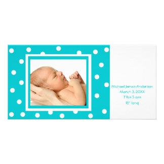 Dots n Dots (teal) Card