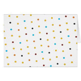 Dots 'n' Stripes Blank Card