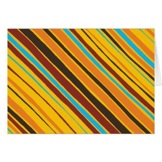 Dots 'n' Stripes Blank Notecard Greeting Cards