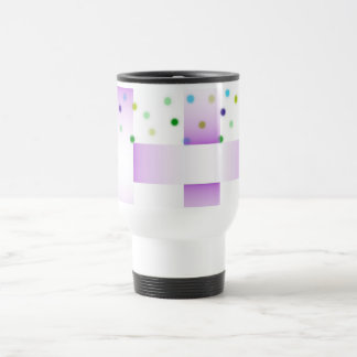 Dots `n Weave Travel Mug