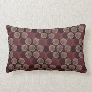 """Dots No Com - Merlot (21""""x13"""" Pillow) Throw Pillow"""