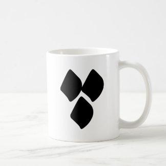 Dots of Love - Black Coffee Mug