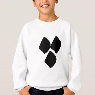 Dots of Love - Black Sweatshirt