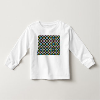 Dots On Black Toddler T-shirt