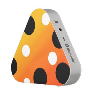 Dots On Blended OrangeToYellow Bluetooth Speaker