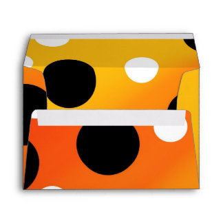 Dots On Blended OrangeToYellow Envelope