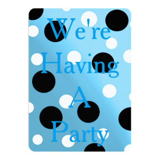 Dots On Blended SkyBlue Card