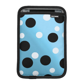 Dots On Blended SkyBlue Sleeve For iPad Mini