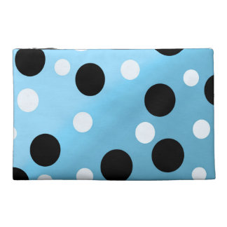 Dots On Blended SkyBlue Travel Accessory Bag