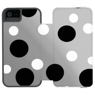 Dots On Blending iPhone SE/5/5s Wallet Case