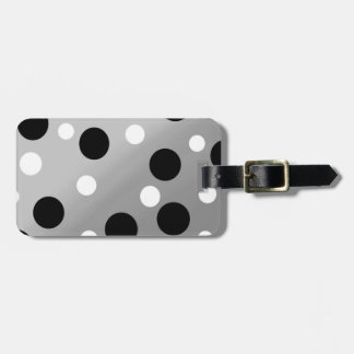 Dots On Blending Tag For Luggage