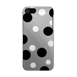 Dots On Blending Metallic Phone Case For iPhone SE/5/5s
