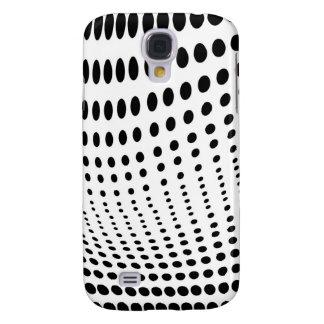 Dots Optical Illusion Samsung Galaxy S4 Case
