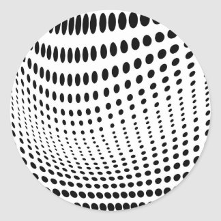 Dots Optical Illusion Stickers