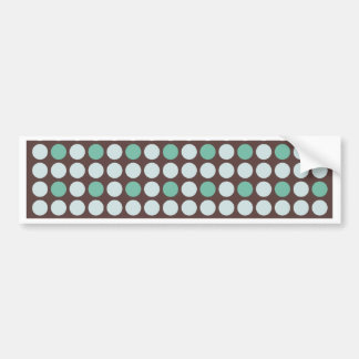 dots pattern background abstract texture circle ro bumper sticker