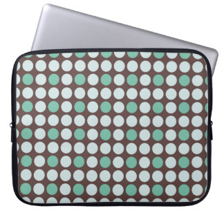 dots pattern background abstract texture circle ro laptop sleeve