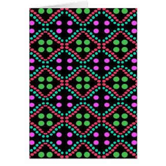 dots pattern card