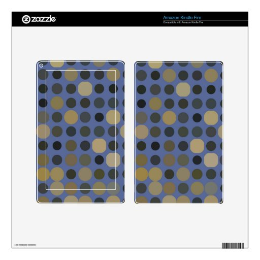 Dots pattern skins for kindle fire