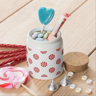 DOTS - PEPPERMINT CANDY (a polka dot design) ~ Candy Jar