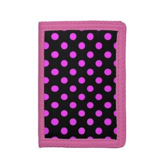 Dots pink wallet