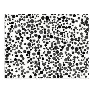 Dots. Postcard