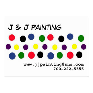Dots Row Large Business Card