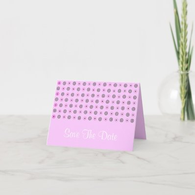 Dots Save The Date Cards