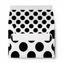 Dots seamless pattern black   your back envelope