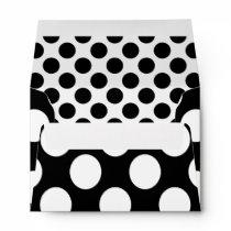 Dots seamless pattern white   your backgr. envelope