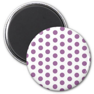 dots spots party invitation retro map line polka magnet