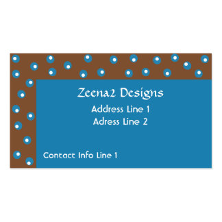 Dots within Dots Business Cards
