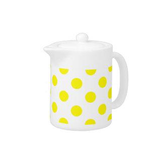 DOTS - YELLOW (a polka dot design) ~
