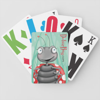 Dotsie Bug Bicycle Playing Cards