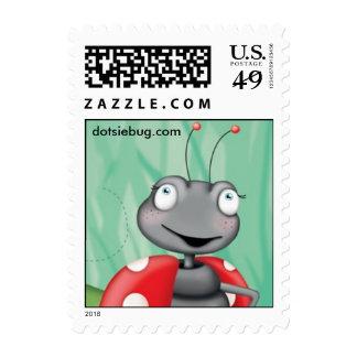 Dotsie Bug Postage Stamps
