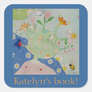 Dotsie's daughter bookplate
