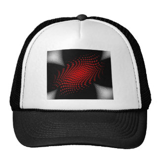 Dotted_Center_red Gorras
