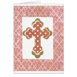 Dotted Cross Card