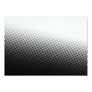 Dotted Halftone Fade Card