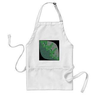 Dotted Leaf Adult Apron