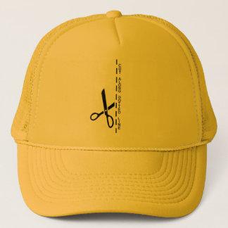 Dotted Line Trucker Hat