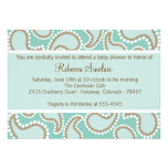 Dotted Paisley Invitation