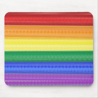 Dotted Rainbow Mousepads