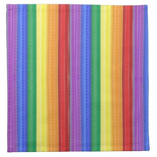 Dotted Rainbow Napkin