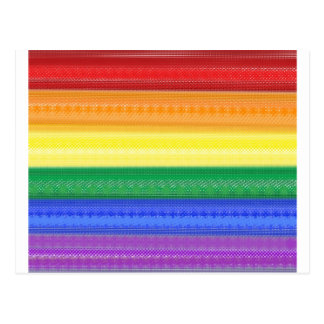Dotted Rainbow Postcard