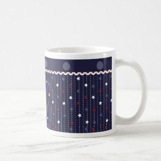 Dotted Stars Mug