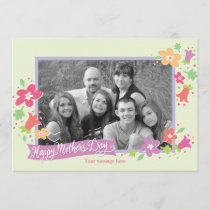 Dotted Swiss Mother's Day Greeting Card