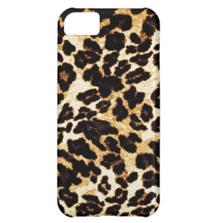 Dotted Tiger Skin Animal Fur Art Design Wild Aggre iPhone 5C Cover