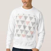 Dotted Triangles Pattern #1 Sweatshirt